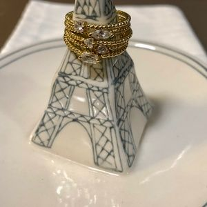 Nordstrom Gold Stacking Rings